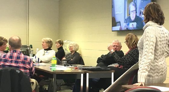 Nearly two dozen health care professionals from across Minnesota and Wisconsin gathered at Northwest Technical College for a Feb. 9 listening session to help the college explore potential new academic programs in gerontology and dementia.