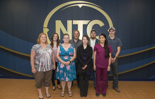 Recipients of the NTC Foundation's Fred Breen Endowment General Scholarship