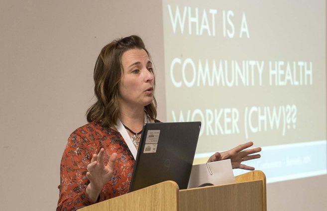 NTC lead CHW faculty member Wendy Potratz