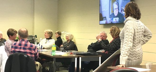 NTC held a Feb. 9, 2018, listening session with regional health care professionals to explore potential new programs in gerontology and aging.