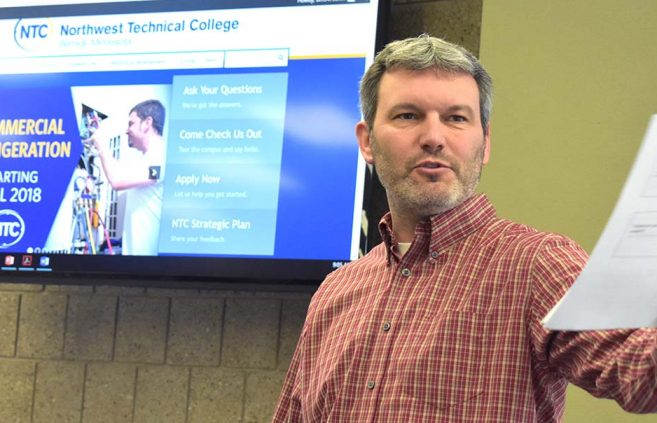 Darrin Strosahl, vice president for academic affairs at Northwest Technical College, announced April 2 that NTC is adding a Commercial Refrigeration/HVAC academic program beginning in Fall 2018.