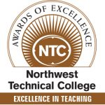 Badge: NTC Excellence in Teaching Award