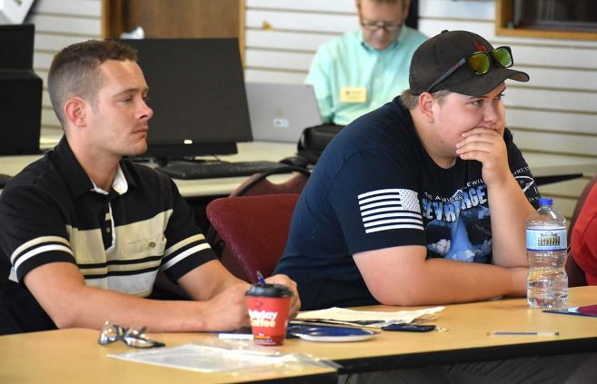More than a half-dozen prospective students attended a presentation on NTC's new Commercial Refrigeration/HVAC program July 23 at the college's Sustainable Energy Technology Center.