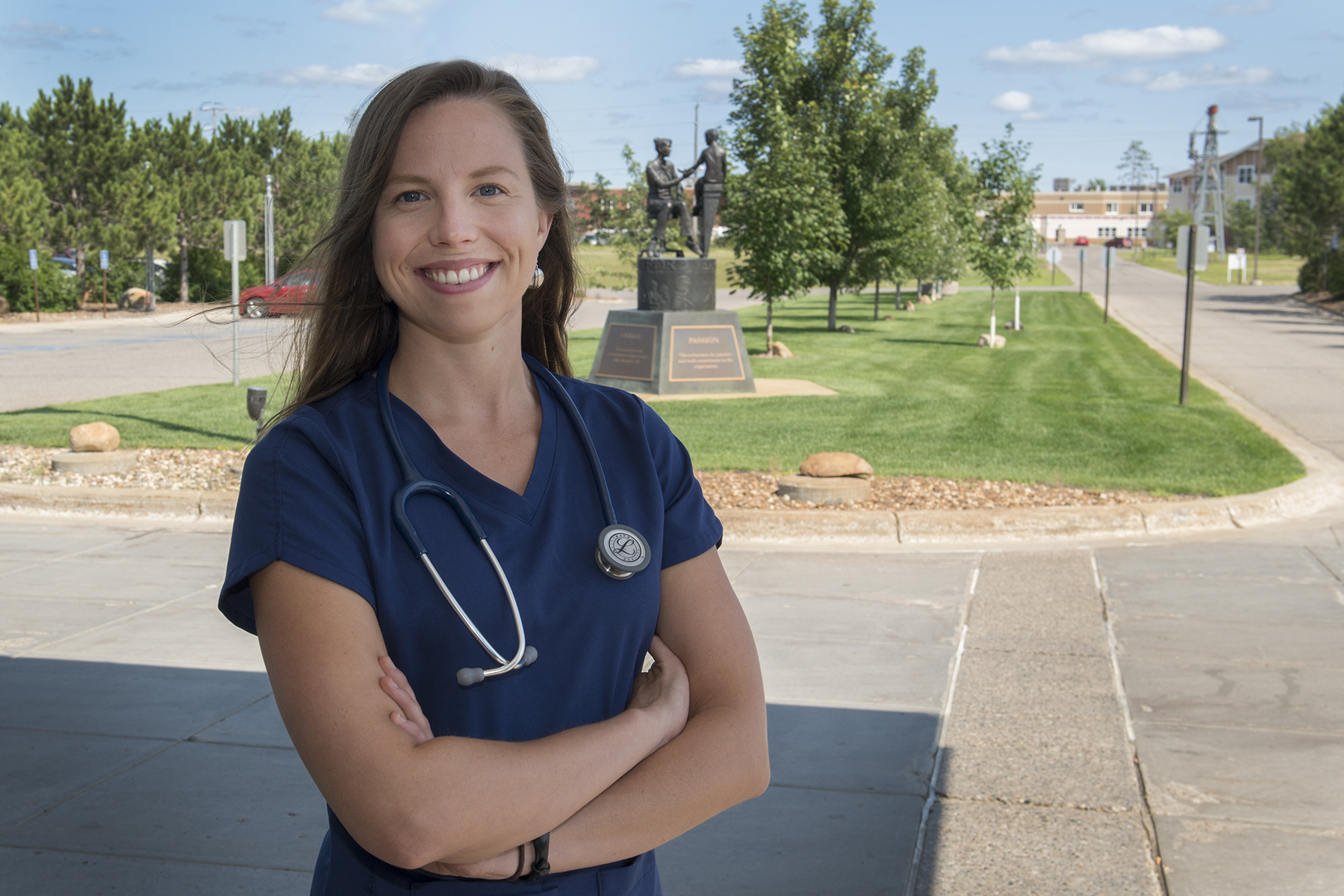 Skiing Accident Leads Katie Houg to NTC and a Future in Health Care