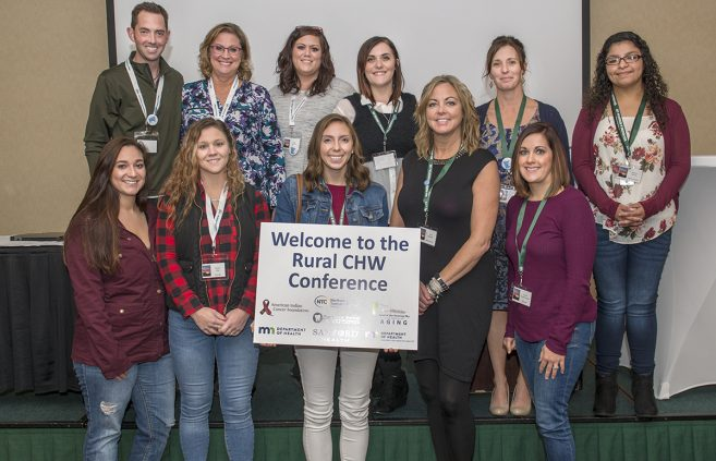 Front Left to Right: Erica Evans, Kirsten May, Abigail Deitchler, Sara Brubaker, Daidrie Promersberger, Back Left to Right: Jeff Lindseth, Connie Norman, Angie Keprios, Sara Citrine, Dr. Wendy Potratz, Monica Murillo