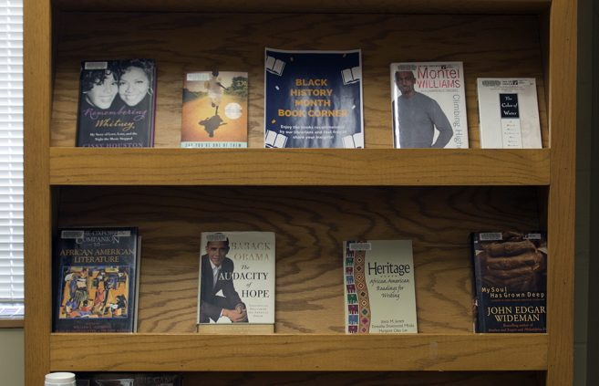 Black History Month Book Corner