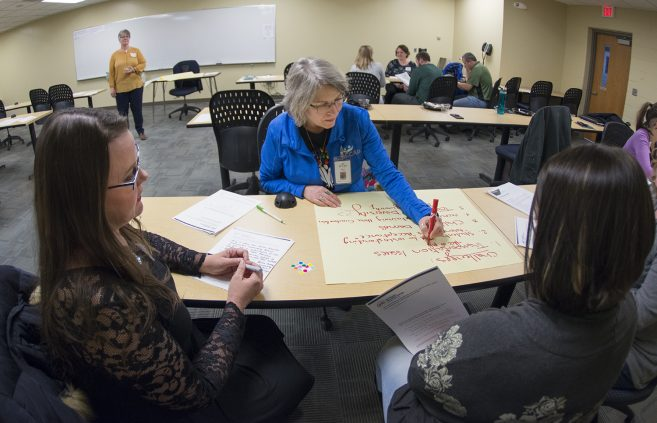 Bi-Cap Bemidji worked with several NTC faculty and staff members on ways to address diversity and inclusion.
