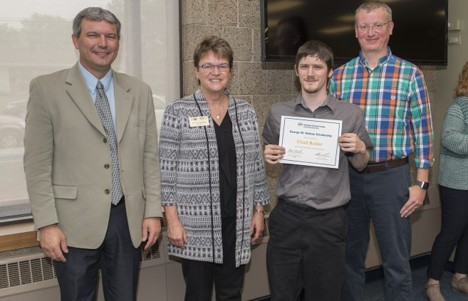 Chad Butler received the George W. Neilson Scholarship.