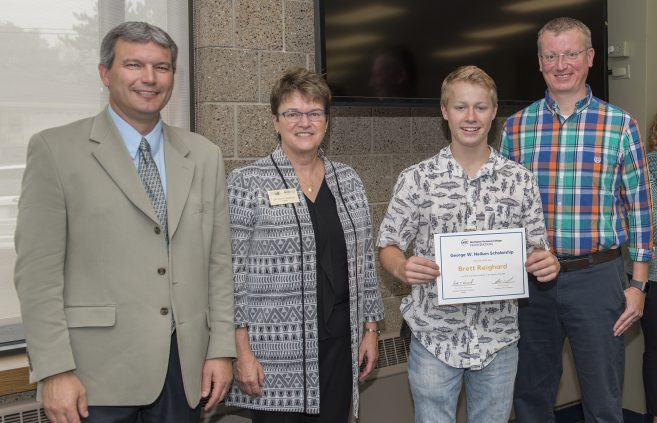 Brett Reighard received the George W. Neilson Scholarship.
