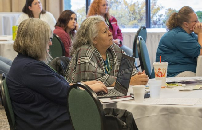 Attendee of the Minnesota Rural Community Health Worker Conference.