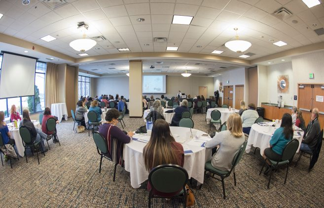Attendees of the Minnesota Rural Community Health Worker Conference.