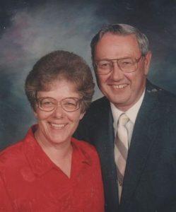 Eva and Keith Olson