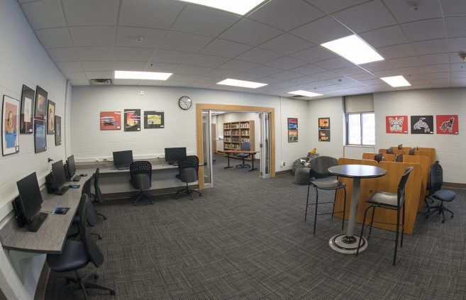 The NTC Student Success Center.