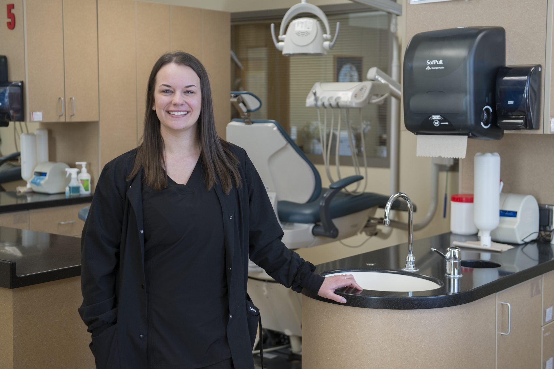 Dental Assisting Student Emily Borah