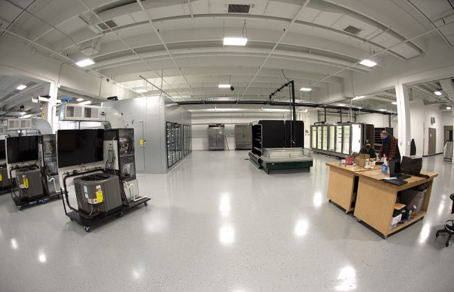 Commercial Refrigeration lab