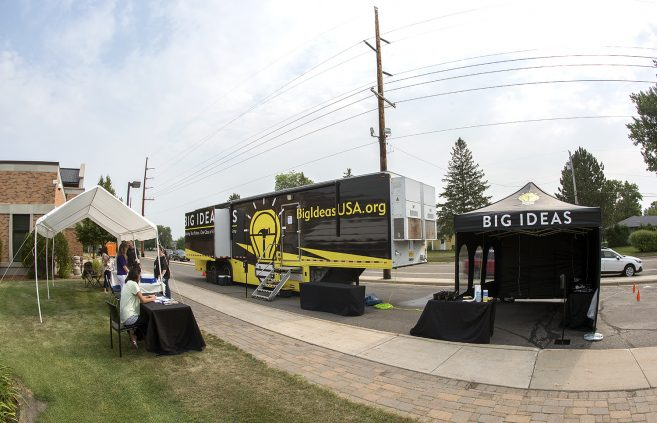 Big Ideas Mobile Learning Lab at NTC campus.