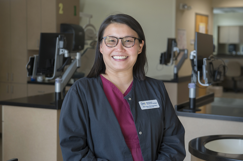 Siau Yean Montgomery, dental assisting adjunct instructor
