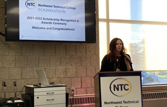 Ashley Johnson, NTC's Foundation development officer