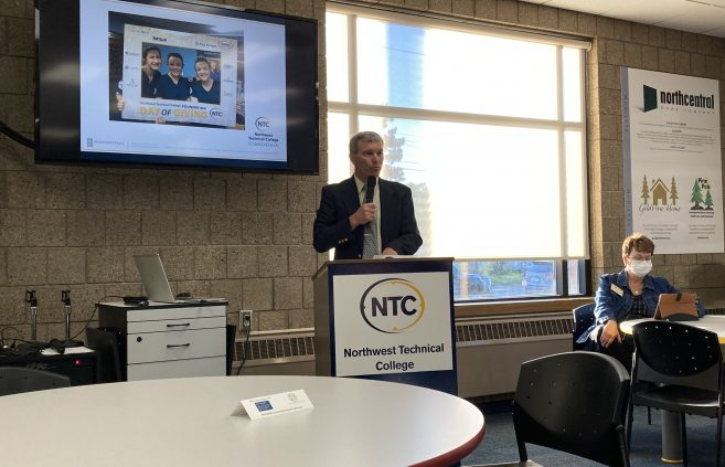 Darrin Strosahl, NTC's vice president for academic and student affairs